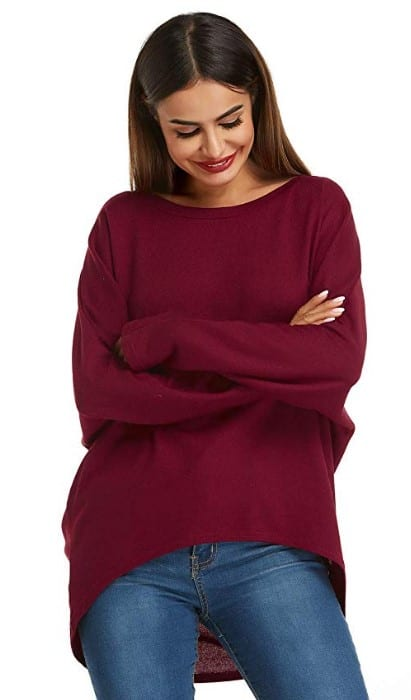 womens modern sweater outfit