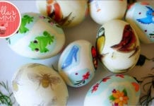 easter egg prints