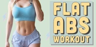 10 Min FLAT ABS WORKOUT | INTENSE RIPPED 6 PACK AB Workout
