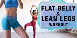 Burn Belly Fat & Thigh Fat Workout | Fat Burning Workout (15 Mins)