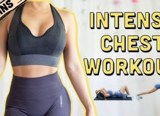 10 Mins Intense Chest Workout   Beginners To Advanced
