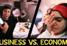 Flying Business VS Economy - First Class worth the $$$?