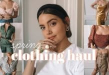 Spring Try-on Clothing Haul
