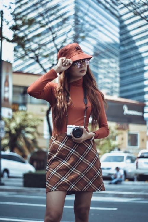 2019 curtain print style womens fashion