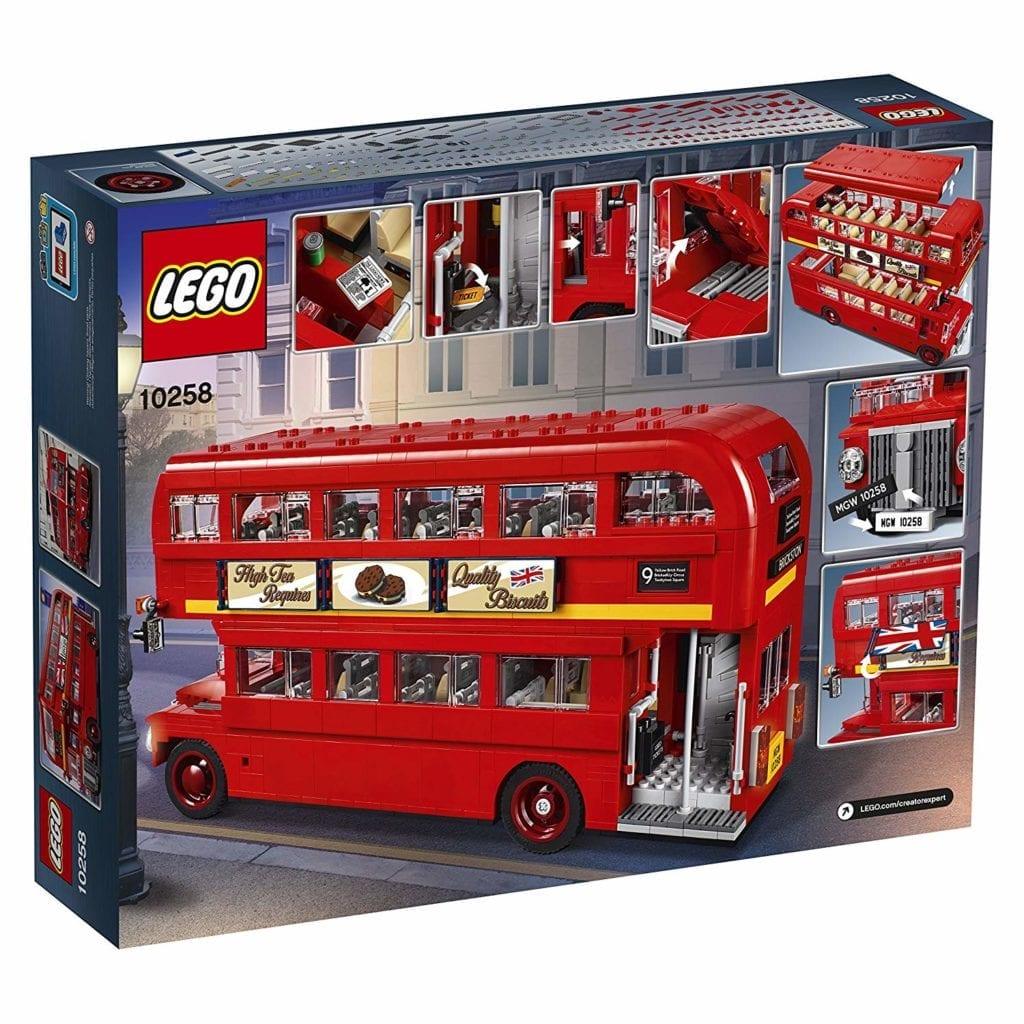 LEGO gift ideas London Bus 1686 Piece