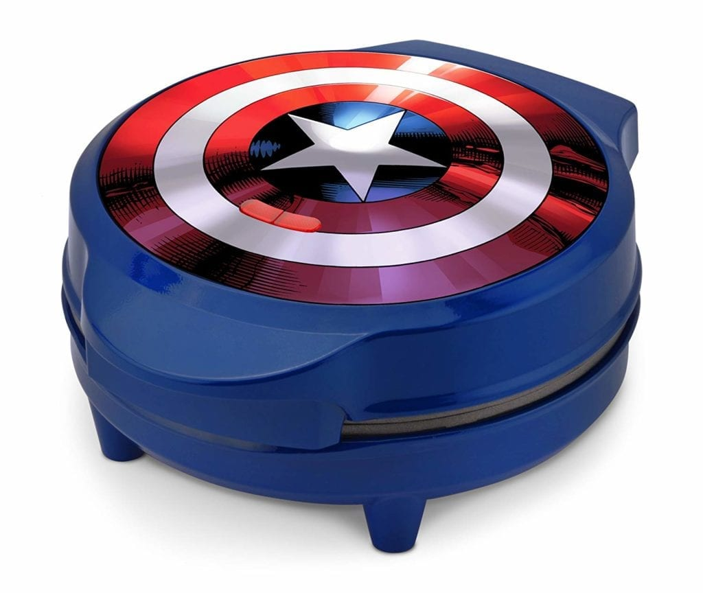 Marvel MVA 278 Captain America Waffle Maker Blue