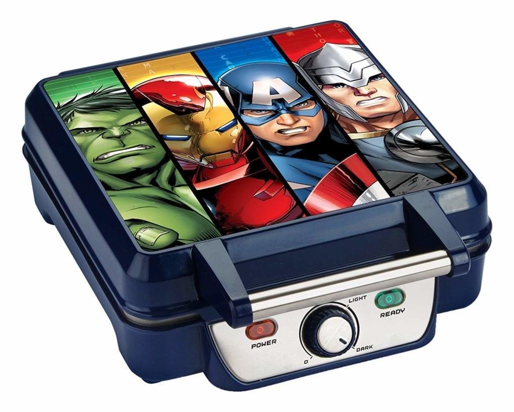 Marvel MVA 281 Avengers Waffle Maker Blue