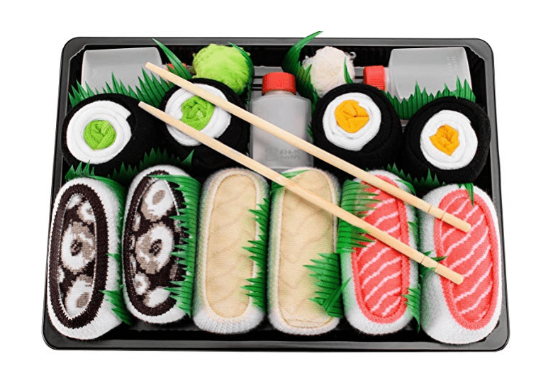 Sushi Socks Box Set gift idea