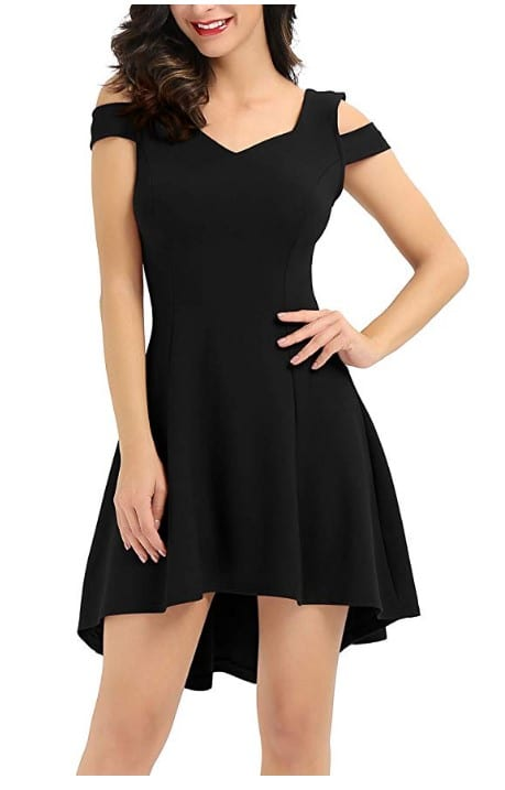 Women's Short Sleeve Cocktail Dress Taiwan Fashion