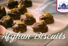 afghan biscuit recipe in the kitchen