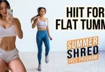Quick & Effective HIIT Workout for Flat Tummy