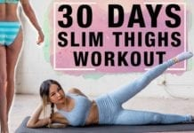 10 Mins Thigh Workout to Get Lean Legs In 30 Days