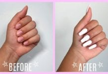 How I Do My Nails At Home! - no acrylic or damage