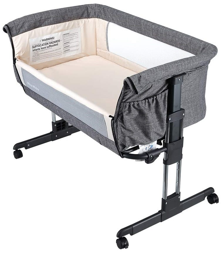 Mika Micky Portable Crib And Bedside Sleeper