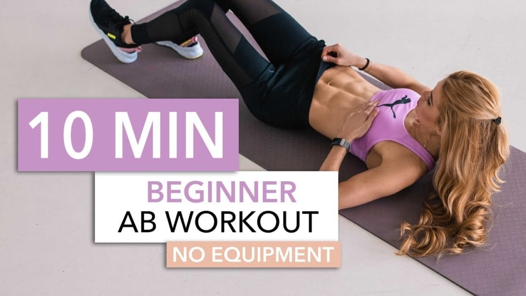 10 Minute Beginner Ab Workout