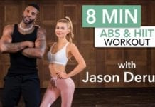 8 MINUTE AB & HIIT WORKOUT