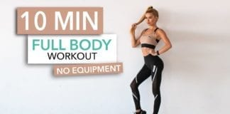 10 MINUTE FULL BODY WORKOUT