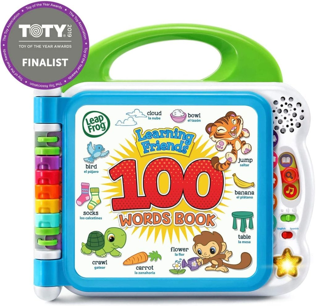 best toys for 1 year olds 2 LeapFrog Learning Words Book