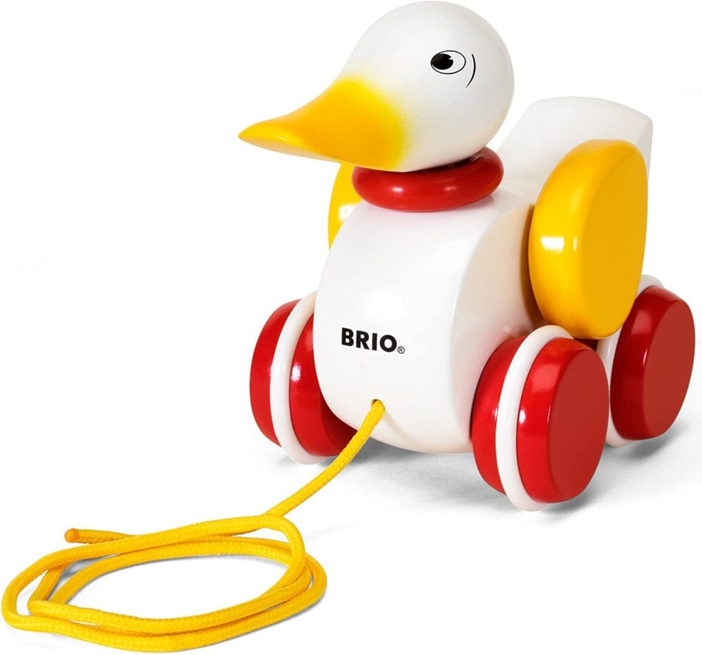 BRIO World - 30323 Pull Along Duck Baby Toy