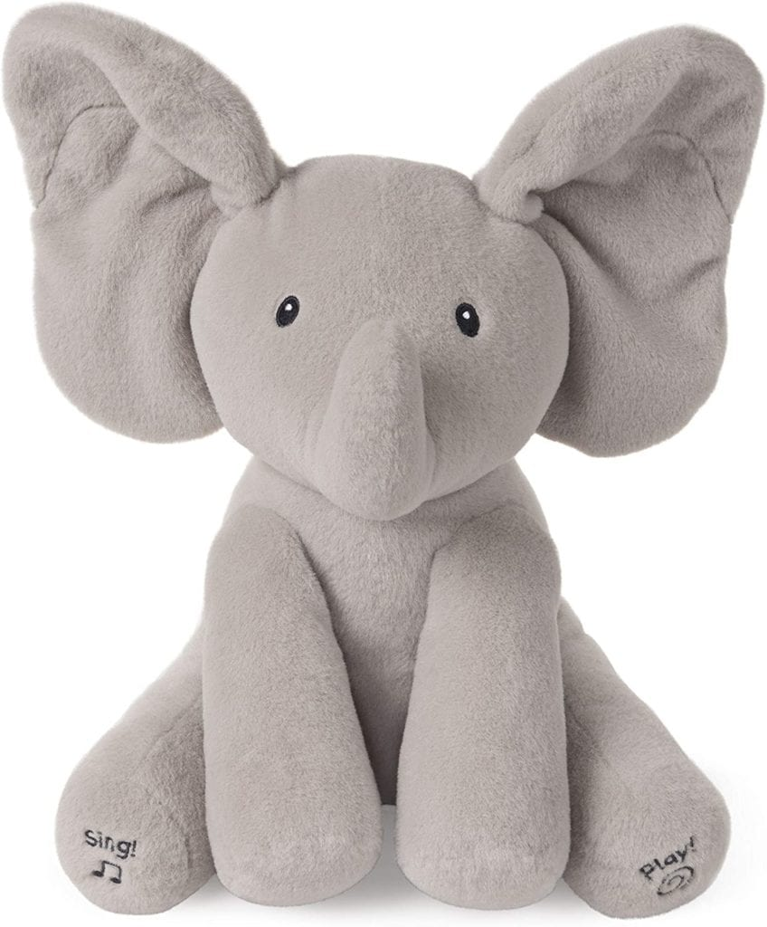best toys for 1 year olds Baby GUND Animated Flappy the Elephant Stuffed Animal Plush