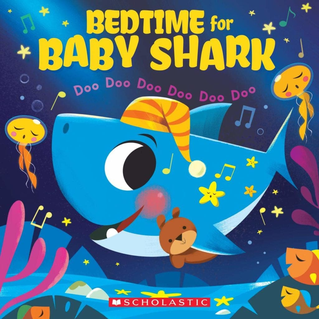 Bedtime for Baby Shark BOOK FOR 1 year olds