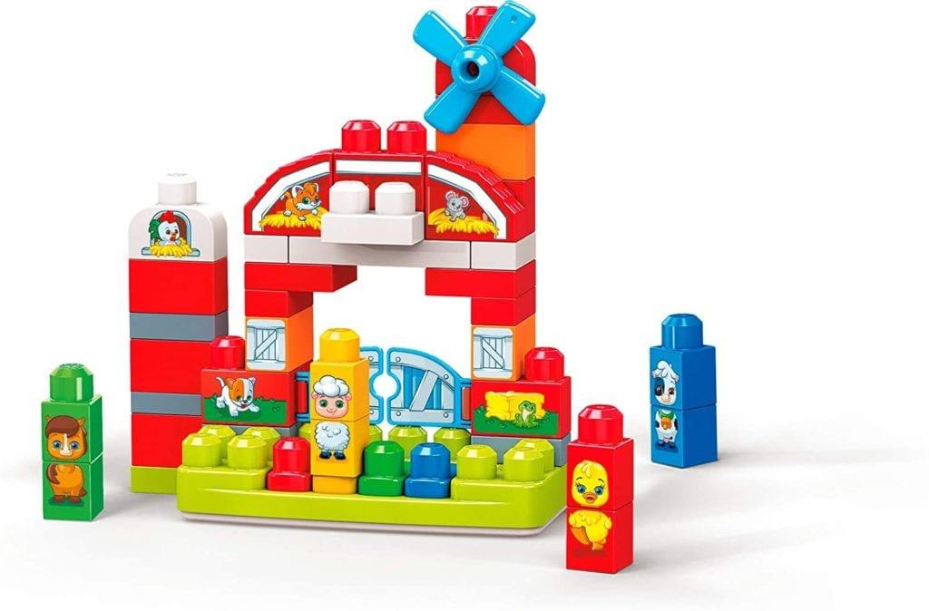 Mega Bloks Musical Farm Best Toys for 1 Year Olds