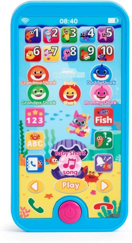 WowWee Pinkfong Baby Shark Smartphone - Educational Preschool Toy