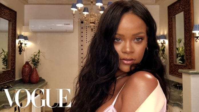 Rihannas Epic 10 Minute Guide to Going Out Makeup