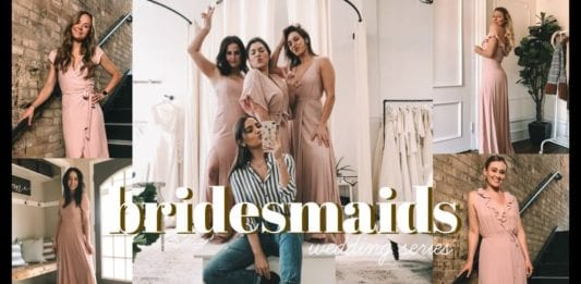 Bridesmaid Dresses + Meet the Girls! - By Tess Christine